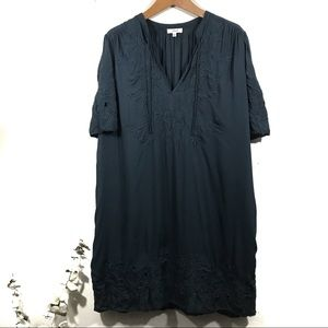 Aritzia Embroidered Dress